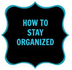 CONTROLLING Craziness: How To Get Organized