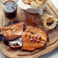 Sosy | Kwestia Smaku Pescado Salmon, Jack Daniels, Fish And Seafood, Camembert Cheese, French Toast, Pork, Meat, Chicken, Cooking