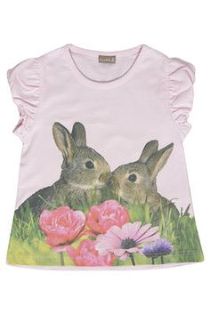 4b0edb5a5b7 Hust   Claire pink bunny tee. Available to buy at http   www