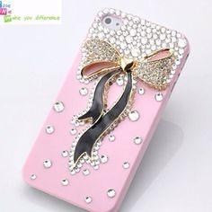Girly bow iPhone case    Wantwantwantwantwantwant!