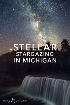 When light fades to darkness, the dark sky of Pure Michigan puts on a show unlike any other in the United States. Michigan Vacations, Michigan Travel, Vacation Destinations, Vacation Spots, Oh The Places You'll Go, Places To Travel, All I Ever Wanted, Need A Vacation, Future Travel