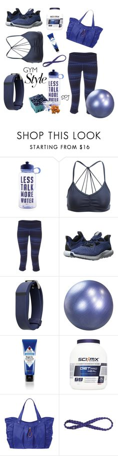 """Gym Style"" by s-p-j ❤ liked on Polyvore featuring Alo Yoga, adidas, Olivia Pratt, Maha Fitness, Baggallini and Athleta"