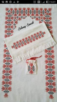 This Pin was discovered by HUZ Cross Stitch Embroidery, Hand Embroidery, Cross Stitch Patterns, Embroidery Designs, Palestinian Embroidery, Prayer Rug, Needle And Thread, Needlework, Sewing Patterns