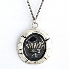 Wax Seal Necklaces at Magpie Jewelry
