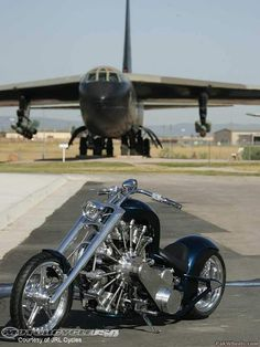 Bike with Radial Engine -786640