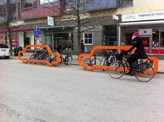 Cyclehoop Car Bike Rack. 1 car for 10 bikes :))