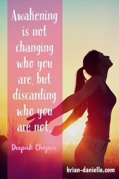 Awakening is not changing who you are, but discarding who you are not ~ Deepak Chopra. Meditation for beginners. Guided Mindfulness Meditation, What Is Mindfulness, Meditation Videos, Mindfulness Exercises, Meditation For Beginners, Meditation Techniques, Meditation Quotes, Healing Meditation, Deepak Chopra Meditation