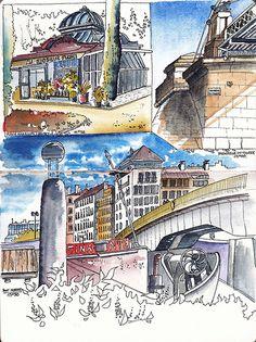 2012 10 13 37th Sketchcrawl - Lyon France