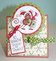 Shakin Changito by tarheelstamper - Cards and Paper Crafts at Splitcoaststampers. Y