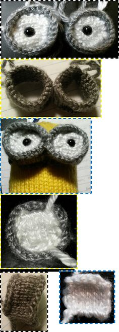 Despicable Me Minion Toy Knitting Pattern Stricken Pinterest