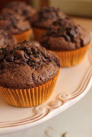 DAMLA ÇİKOLATA: Çikolatalı Muffin- Çikolatalı Top Kek