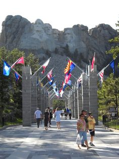 Mt. Rushmore, South Dakota - I have been here more times than I can ever count. wonderful memories