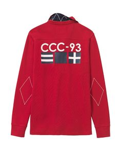 Buy our Men's Clothing, Crew Club Trentwith Long Sleeve Mens Rugby for £60.00 available in Barbados-cherry at Crew Clothing. For more Men's Rugby Shirts, visit Crew Clothing.