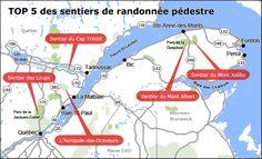 Carte de randonnées pédestres au Québec Malbaie, Les Fjords, Jacques Cartier, Charlevoix, Top 5, Plein Air, Montreal, Rome, Road Trip