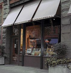 Lovely bookstore front