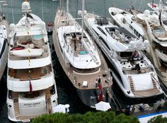 Monaco Yacht Show 2008 Day 3 & 4 Yacht Parsifal III