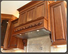 Ventilation Units Are Also Available For Wood Range Hoods Along With Decorative Onlays Which