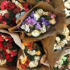 Ready for fall??? These dried flower bouquets start the season off right! 🎃Forget caramel apples, changing leaves, and cooler weather.... dried flower bouquets are the true season starter😘  #Regram via @CEr70AujJ-4 Dried Flower Bouquet, Dried Flowers, Dried Flower Arrangements, Changing Leaves, Caramel Apples, Dry Flowers, Caramel Apple, Candy Apples