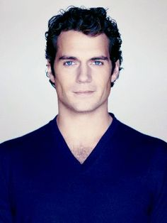 Henry Cavill - those eyes.....wow!