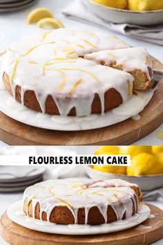 Zesty, moist and delicious this Flourless Lemon Cake is very easy to make. Being a naturally gluten free lemon cake, this recipe is a true crowd pleaser and great for afternoon tea or holidays. Gluten Free Lemon Cake, Gluten Free Cakes, Gluten Free Baking, Gluten Free Desserts, Gluten Free Recipes, Lemon Dessert Recipes, Baking Recipes, Delicious Desserts, Healthy Lemon Cake Recipe