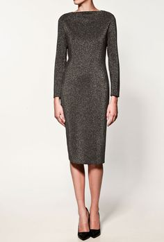 Zara Shiny Studio Dress