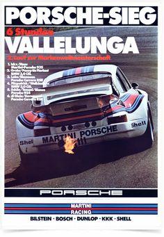 Poster Carros Porsche Vallelunga - Comprar em Decor10