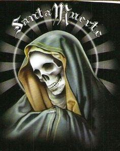 imagenes de la santa muerte para dibujar (13)