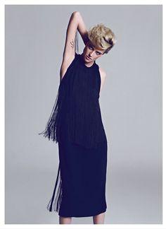 Milou van Groesen Poses in Harpers Bazaar Turkey February 2013 Cover Shoot by Koray Birand