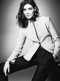 Kati Nescher starring in Giorgio's Armani *New Normal* Fall 2015 advertising Campaign | Fashionworldstuff edited by Syuzena Pitz