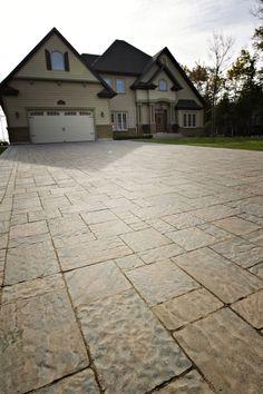 Modular Stone Driveway - Ayles Natural Landscaping