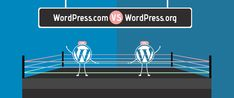 If you are new to WordPress, you might have pondered over the two versions of WordPress i.e. difference between WordPress.com and WordPress.org. The major difference is 'hosting'/ who hosts your site.