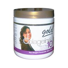 COLAGEINA 10 GOLD - HAIR, SKIN & NAILS. Made of Hydrolyzed Collagen, also contains Elastin, Queratin, and vitamin C. It improves skin texture and elasticity, fights eye bags, wrinkles and spots, improves stretch marks, strengthens hair and nails. Presentation: 195gr jar. #menopause #hotflash #fabulousafter40 #fabulous40 #menopausehelp #menopausediet #menopauseperiod #menopausefood #menopausedrugs #dietarysupplements #naturalproducts #naturalproducts #diet #weight loss