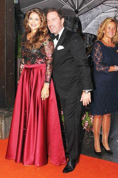 26 august 2014 - Princess Madeleine and her husband, Christopher O'Neil attend a dinner in honour of the winners of the Polar Music Prize