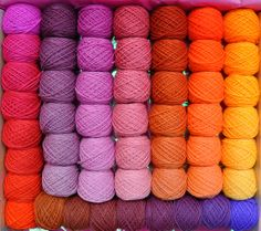 Gradation Design Set Top of the World 104 by colorshiftyarn