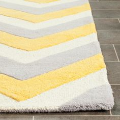 Safavieh Handmade Cambridge Cathern Modern Wool Rug | Overstock.com Shopping - The Best Deals on Area Rugs Orange Rugs, Moroccan Design, Washable Rugs, Contemporary Area Rugs, Grey And Gold, Geometric Designs, Wool Area Rugs, Woven Rug, Colorful Rugs