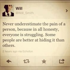 everyone hurts.