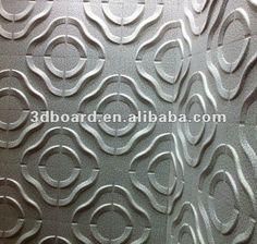 Project decoration fire retardant 3d wall panel