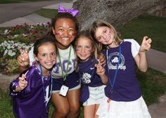 Go Frogs! Jersey Night at Camp Longhorn Indian Springs @tcuedu