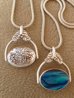 cool necklace - two looks