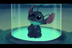"""STITCH! I absolutely adore this little guy. In my opinion, his true form is better than his """"dog"""" form."""