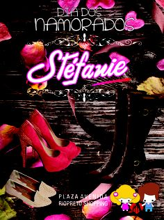 Anuncio Stefanie Dia dos Namorados 2013 (Revista Riopreto Shopping)
