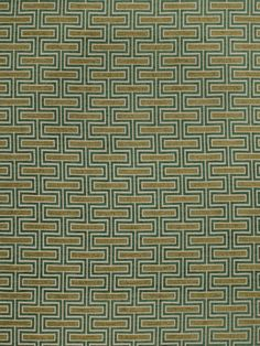 Fabulous Fabric Friday April 4, 2014 Fabricut-Etcetera-Wasabi Modern Geometric Chenille Used for upholstery, 4 color ways