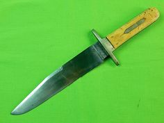 Antique Old English British Geo. Wostenholm I-XL Bowie Fighting Knife