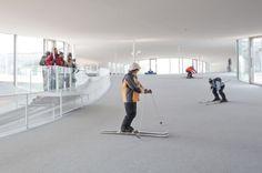 Rolex Learning Center, EPFL Lausanne, Switzerland