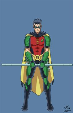 Tim Drake! Robin by phil-cho
