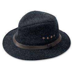 Filson SM Charcoal Wool Packer Hat 60025