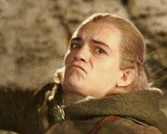 Awww Legolas has a sad ;~;