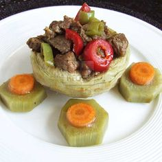 [Turkey] Artichoke Stuffed With Lamb  | giverecipe.com