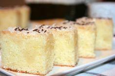 Reteta culinara Prajitura cu iaurt si cocos din categoria Prajituri. Cum sa faci Prajitura cu iaurt si cocos