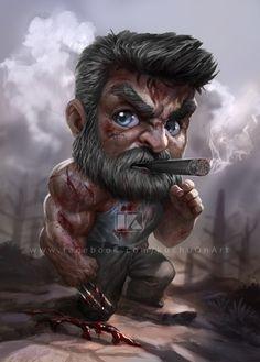 kuchupack - Marvel Comics X-Men Wolverine Marvel Wolverine, Logan Wolverine, Marvel Art, Marvel Heroes, Marvel Avengers, Marvel Movie Characters, Marvel Movies, Joker Wallpapers, Cute Cartoon Wallpapers